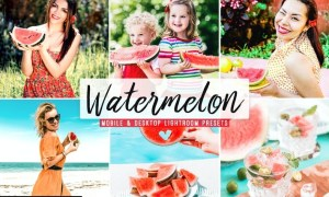 Watermelon Mobile & Desktop Lightroom Presets
