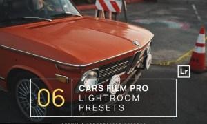 6 Cars Film Pro Lightroom Presets + Mobile