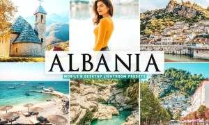 Albania Mobile & Desktop Lightroom Presets