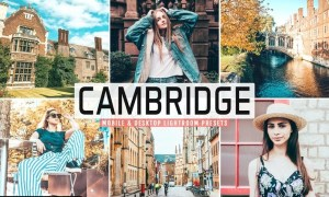 Cambridge Mobile & Desktop Lightroom Presets