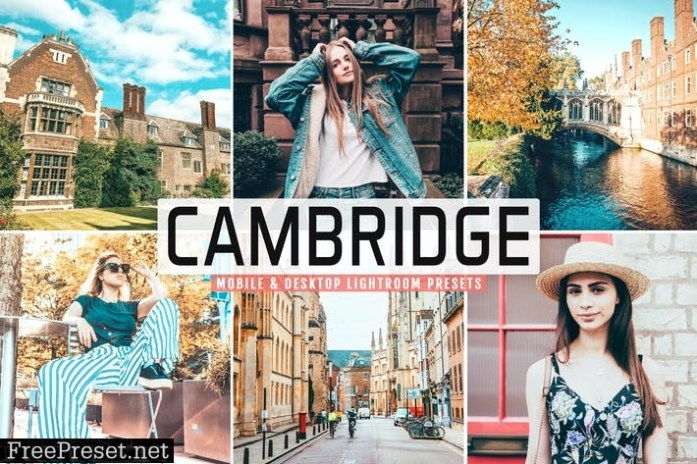 Cambridge Mobile & Desktop Lightroom Presets