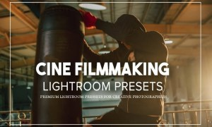 Cine Filmmaking Lightroom Presets