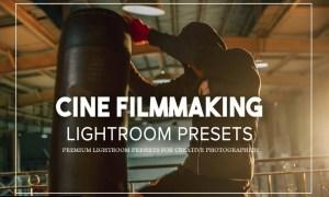 Cine Filmmaking Lightroom Presets