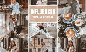 Influencer Mobile Lightroom Presets 5518539