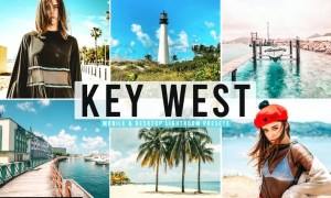Key West Mobile & Desktop Lightroom Presets