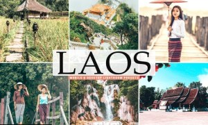 Laos Mobile & Desktop Lightroom Presets
