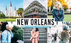 New Orleans Mobile & Desktop Lightroom Presets