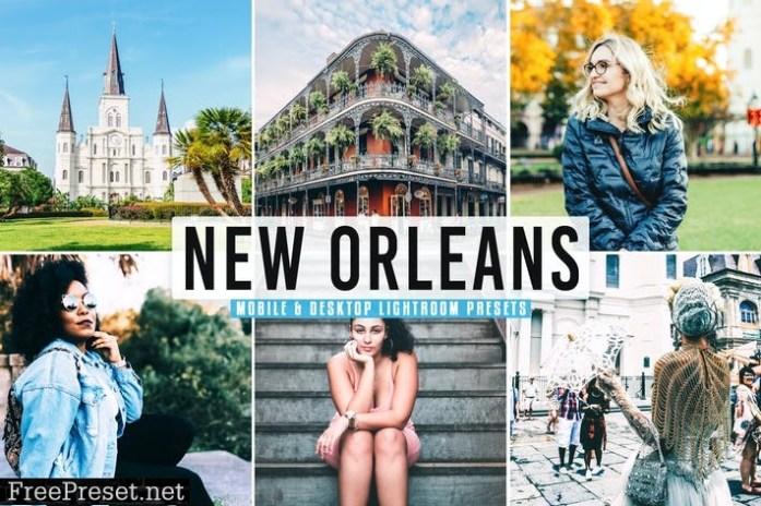 New Orleans Mobile & Desktop Lightroom Presets