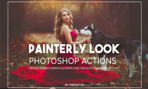 Painterly Photoshop Actions XQKWPLD