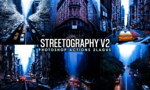 Streetographie - Cinematic v2 Photoshop Actions 8WSU6W2