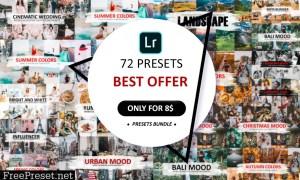 72 Preset Pack For Lightroom 5582781