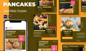 Bakery Vol4 Social Media Template SVFTTP2