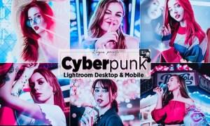 Cyberpunk Portrait Lighroom Presets