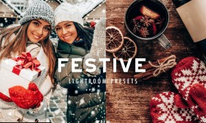 FESTIVE CHRISTMAS LIGHTROOM PRESETS 5634917