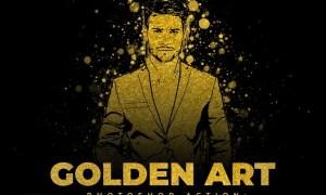 Golden Art Photoshop Action