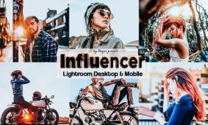 Influencer Lightroom Presets Mobile and Desktop