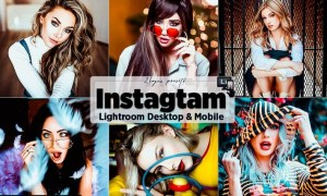 Instagram Lightroom Presets Mobile and PC