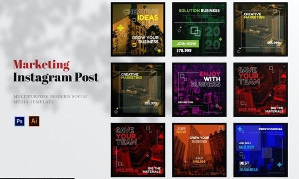 Marketing Business Social Media Post ZHD55QS