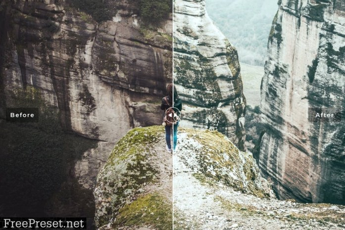 Meteora Mobile & Desktop Lightroom Presets