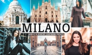 Milano Mobile & Desktop Lightroom Presets
