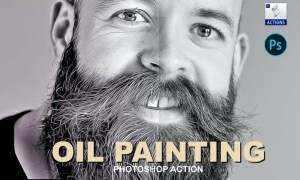 Oil Painting | Photoshop action NNZZ6Z6