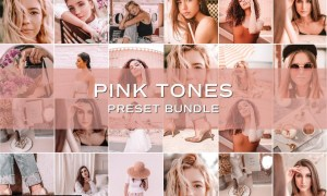 30 Pink Lightroom Preset Bundle 5701831