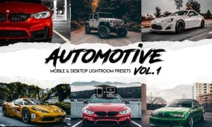 Automotive Vol. 1 - 15 Premium Lightroom Presets