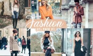 Fashion LUTs Pack #1 | Video Photo Color Grading V5DZMQB