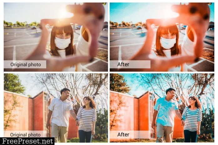 Orange and Teal Presets 5698211