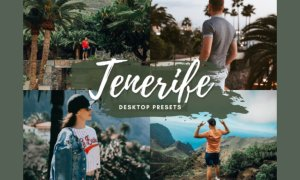 TENERIFE Desktop Lightroom Presets 5712585