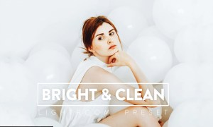 10 Bright & Clean Lightroom Presets
