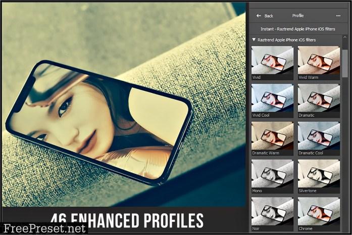Apple iPhone & iOS Filters profiles 5745341
