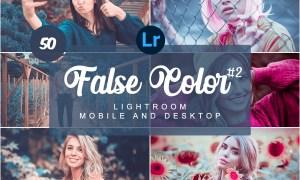 False Color Mobile Desktop PRESETS 5734595
