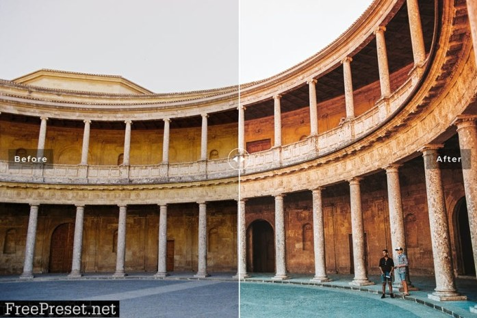 Granada Mobile & Desktop Lightroom Presets