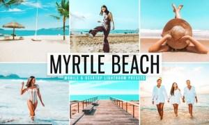 Myrtle Beach Mobile & Desktop Lightroom Presets
