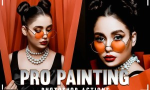 PRO Cartoon Painting Photoshop Action 5T3HHJC