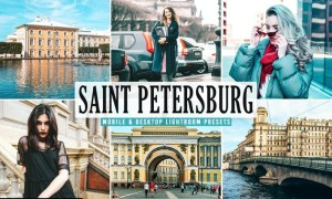 Saint Petersburg Mobile & Desktop Lightroom Preset