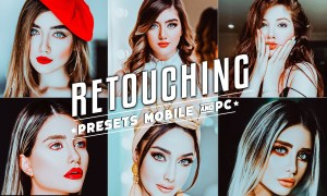 Skin Retouch Preset Lightroom Mobile and PC