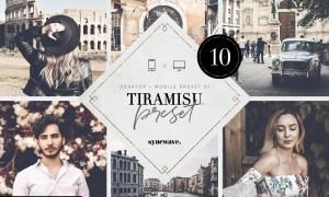 Tiramisu Lightroom Presets Bundle 5251311