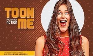Toon-Me Photoshop Action - Cartoonize 2