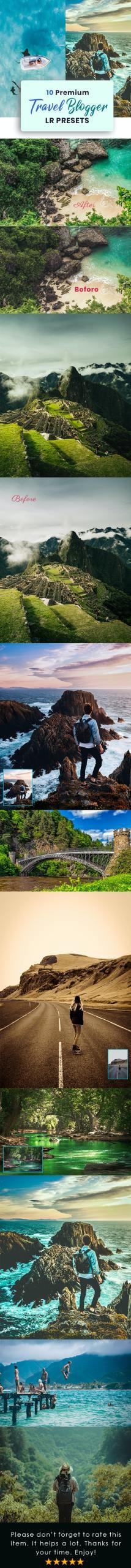 Travel Blogger Lightroom Presets 30128343