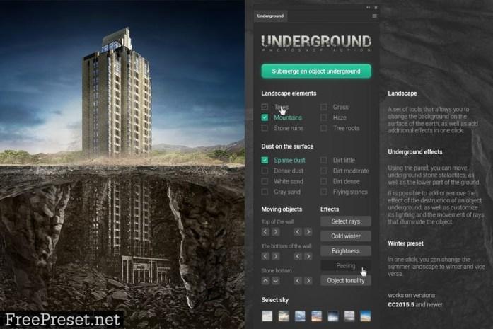 Underground Photoshop Action 9V2NBWR