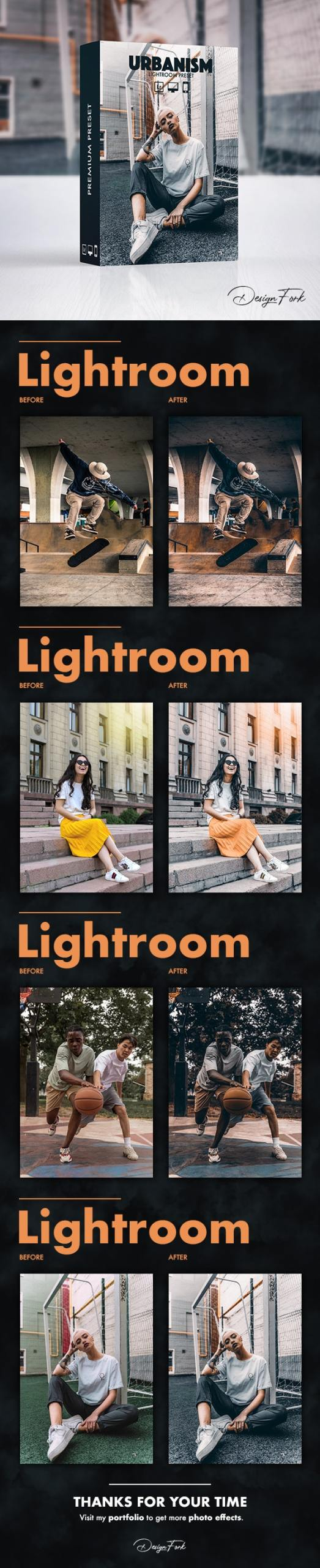 Urbanism FX Lightroom Preset 30141897
