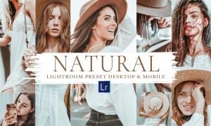 10 Natural Mobile & Lightroom Preset 5920290