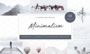 10 x Lightroom Presets, Minimalism 5962576
