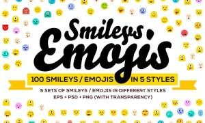 100 Emoji & Smiley Bundle Pack Vol 1 3PQDUXK