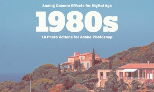 1980s Photo Actions for Adobe Photoshop