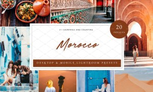 20 x Lightroom Presets, Morocco 5962635