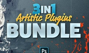 3in1 Artistic Plugins Bundle for Photoshop 25516747
