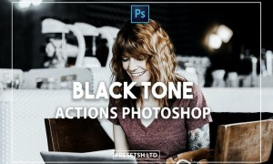 Black Tone Photoshop Actions
